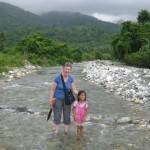 De rivier oversteken
