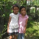 Iris en een vriendinnetje