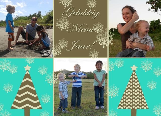 Kerstkaart Familie Pijper